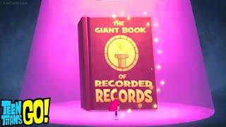 The Record Book | Teen Titans Go! | Record Book