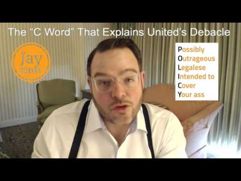 """The """"C Word"""" That Explains United's Debacle: Jay Today 2.28"""