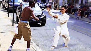 Wing Chun Master vs Bullies | Wing Chun in the Street