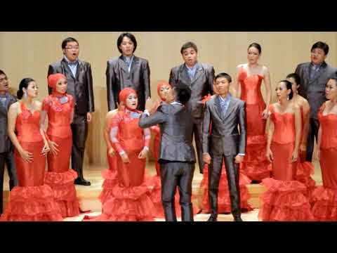 Infinito Singers of Indonesia sing Madrigal