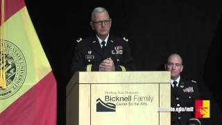 'WF15 ROTC Commissioning (full program) - Pittsburg State University