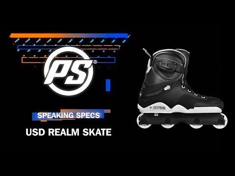 Video USD Roller Street REALM DUAL Noir Blanc