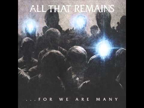 The Last Time - All That Remains - Lyrics
