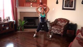 Waist Trimming/Thigh Toning Dance Workout