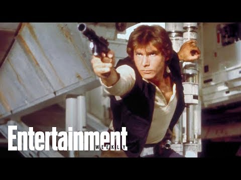 Harrison Ford's Advice To Young Han Solo | Story Behind The Story | Entertainment Weekly