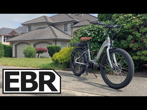 EVELO Galaxy 500 Review - $4k Best Small Ebike, Enviolo Automatic, Gates Belt Drive