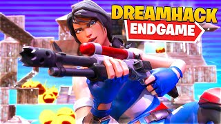 I Practiced My Solo Endgame in Dreamhack... (Fortnite Battle Royale)