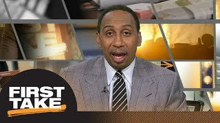 Stephen A. reacts to Malcolm Jenkins, Trump's comments on NFL protest | First Take | ESPN