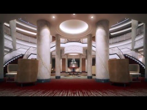 Queen Mary 2 Refit: Grand Lobby