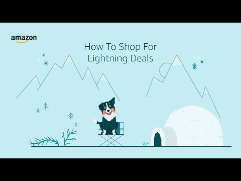 amazon.co.uk & Amazon Voucher Codes video: How to Find Lightning Deals Using the Amazon App