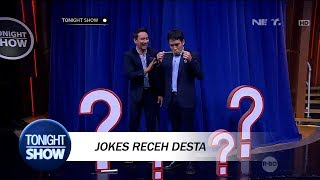 Nyoba Jokes Receh, Desta Justru Malu Sendiri