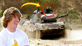 I Drove a Tank!