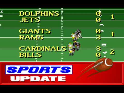 NFL Football (Week 9: Packers - Raiders) (Distinctive Software) (MS-DOS) [1992] [PC Longplay]