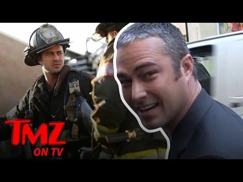 Taylor Kinney: Hottest Fake Firefighter Ever! | TMZ TV