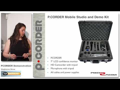 Pixel2media P.CORDER 120 - Mobile Studio Kit Pro without camera, Presentation recorder, lecture recording