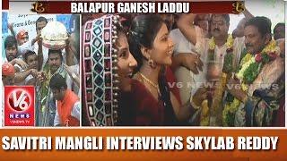 WATCH: Savithri, Mangli demanding laddu from Skylabanna..