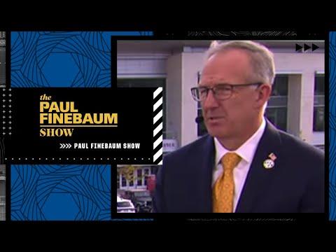 SEC Commish Greg Sankey reacts to Big 12 realignment news | Paul Finebaum Show