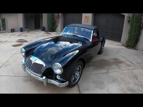 video 1956 MG MGA