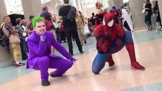 SPIDER-MAN vs JOKER - Epic BBoy Dance Battle! TstunningSpidey & Sean Ward