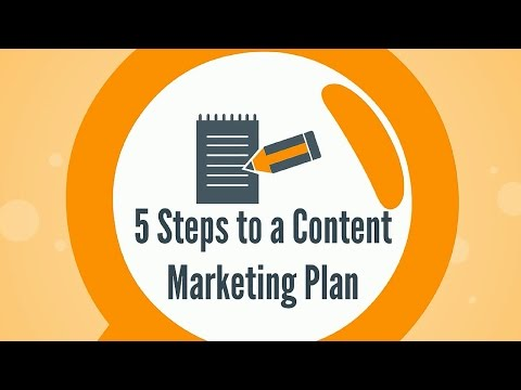 5 Steps to a Content Marketing Plan