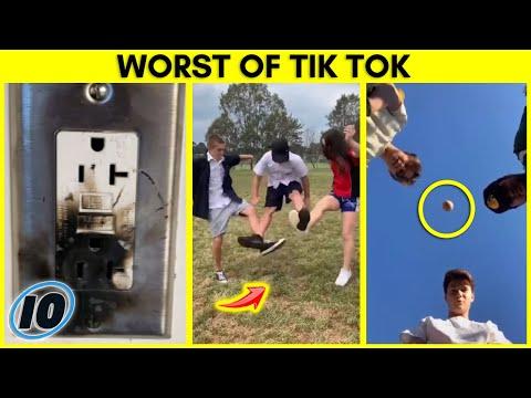 10-те најбизарни TikTok предизвици што ги видовме досега