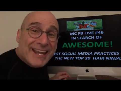 46 - Michael Cole Facebook Live - In Search of Awesomeness: Top 20 Ninjas Pt 1