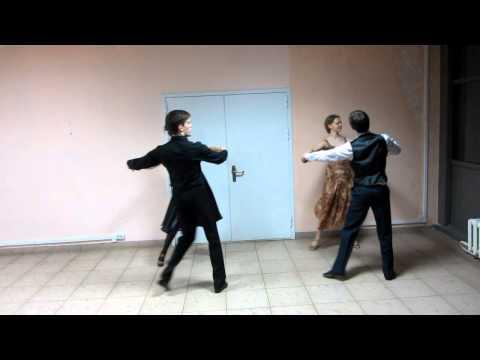 Кадетский вальс. Схема танца