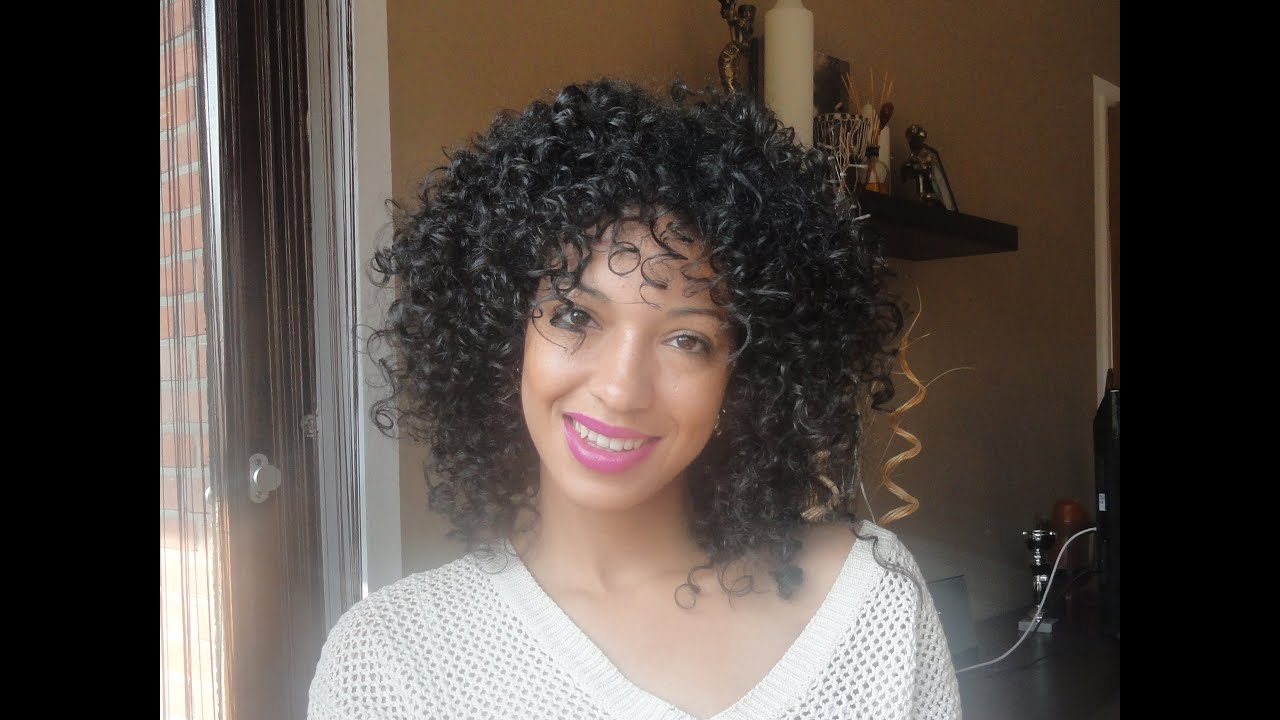 I Cut Hair Style: Ouidad Carve And Slice Curly Cut Review