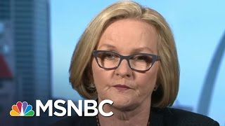 Sen. McCaskill: FBI Investigation 'Blunted Some Of Clinton's Momentum' | MTP Daily | MSNBC