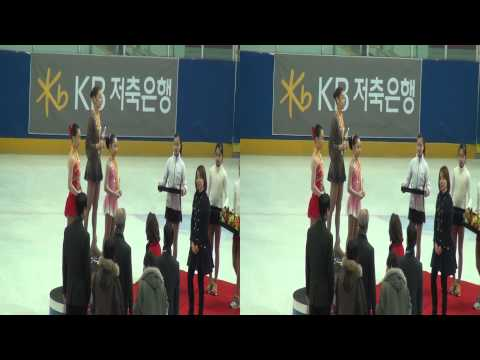 [3D] 2013 KOREA FIGURE SKATING Championships - awards ceremony