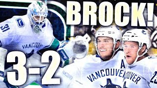 BROCK BOESER OVERTIME GOAL! BOESER LEGACY VS PENGUINS CONTINUES (Vancouver Canucks - Anders Nilsson)