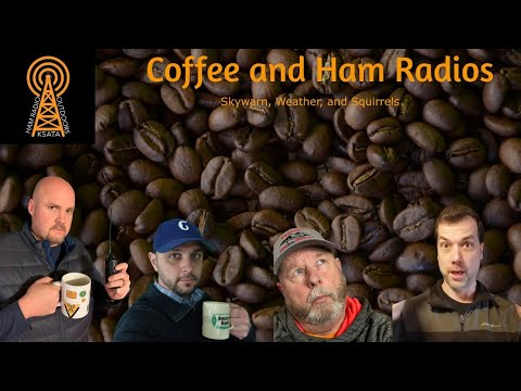 Coffee and Ham Radios: Skywarn, Weather, and Squirrels
