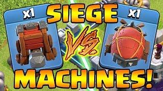 SIEGE MACHINES!  Unleash the BEASTS!  TH12 UPDATE Sneak Peak #5 | Clash of Clans
