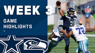 Cowboys vs. Seahawks Week 3 Highlights | NFL 2020