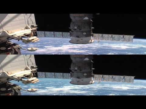 Panasonic 3D Demo - NASA Space Shuttle