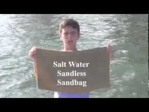 This Kid Invents A New, Rather Incredible Sandbag