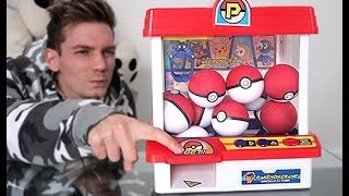 New Pokémon Center *Claw Machine *