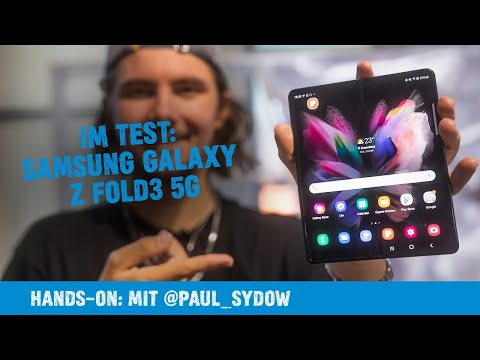Hands on: Samsung Galaxy Z Fold3 5G 256GB Review   Paul Sydow
