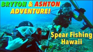 Bryton and Ashton's EPIC Scuba diving adventure!