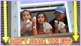 DON'T CRACK THE EGG AND WIN $700.00   EGG DROP CHALLENGE   SISTER FOREVER