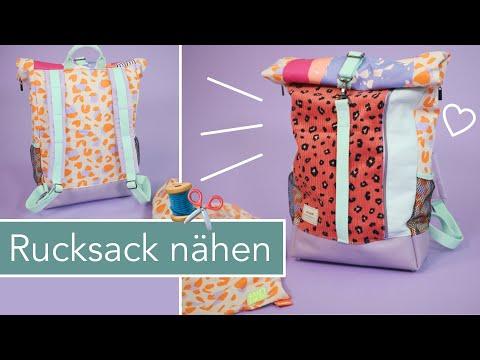 #RolltopRoxi – Rucksack nähen mit kostenlosem Schnittmuster