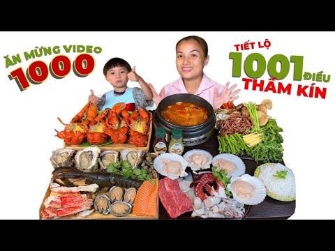 LẨU THÁI tôm hùm & hải sản nướng ngon số dzách mừng video #1000, tâm sự 1001 chuyện thầm kín