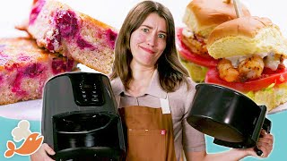 Can This Chef Cook A 3-Course Meal With An Air Fryer? • Tasty