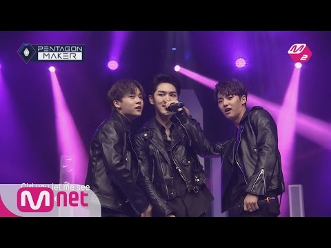 PENTAGON MAKER [M2 PentagonMaker]Team KINO makes everyone's jaw drop with their sexy performance[EP1