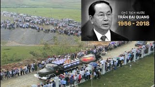 Toàn cảnh lễ đại tag chủ tịch nước Trần Đại Quang