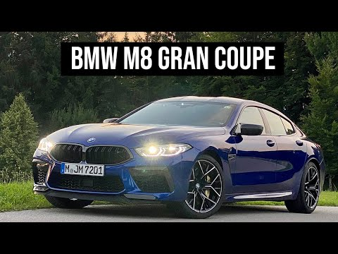 2022 BMW M8 Gran Coupe | 4K Walkthrough
