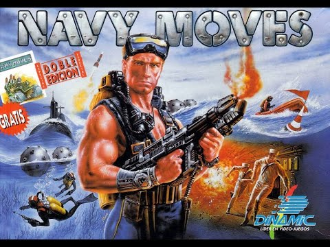 BITeLog 0082: Navy Moves (AMSTRAD CPC) LONGPLAY