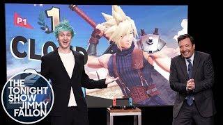 "Tyler ""Ninja"" Blevins Challenges Jimmy Fallon to Super Smash Bros. Ultimate"