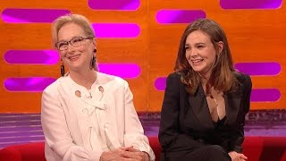 Nicole Kidman and Carey Mulligan discuss stage fright - The Graham Norton Show: Episode 3 - BBC One
