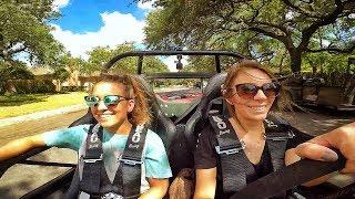 GIRLS DRIVE RACE CAR, Total HILARIOUS FAIL